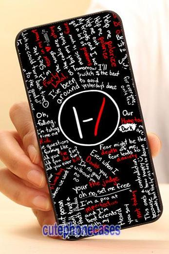 Twenty One Pilots Cell Phone Case Cover for iPhone 4 4S 5 5S 5C SE 6 6S 7 Plus,Samsung Galaxy S3 S4 S5 S6 S7 Edge