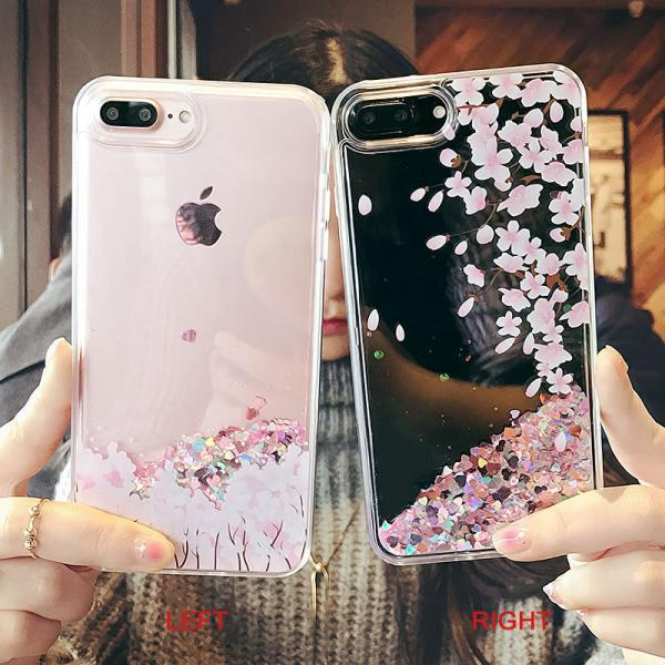 Dynamic Liquid Quicksand Flower Soft Case Cover for iPhone 6/6s,iPhone 6plus/6s plus,iPhone 7,iPhone 7 Plus
